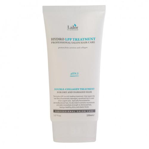 Увлажняющая маска для сухих и поврежденных волос   Eco Hydro LPP Treatment  150ml   La'dor